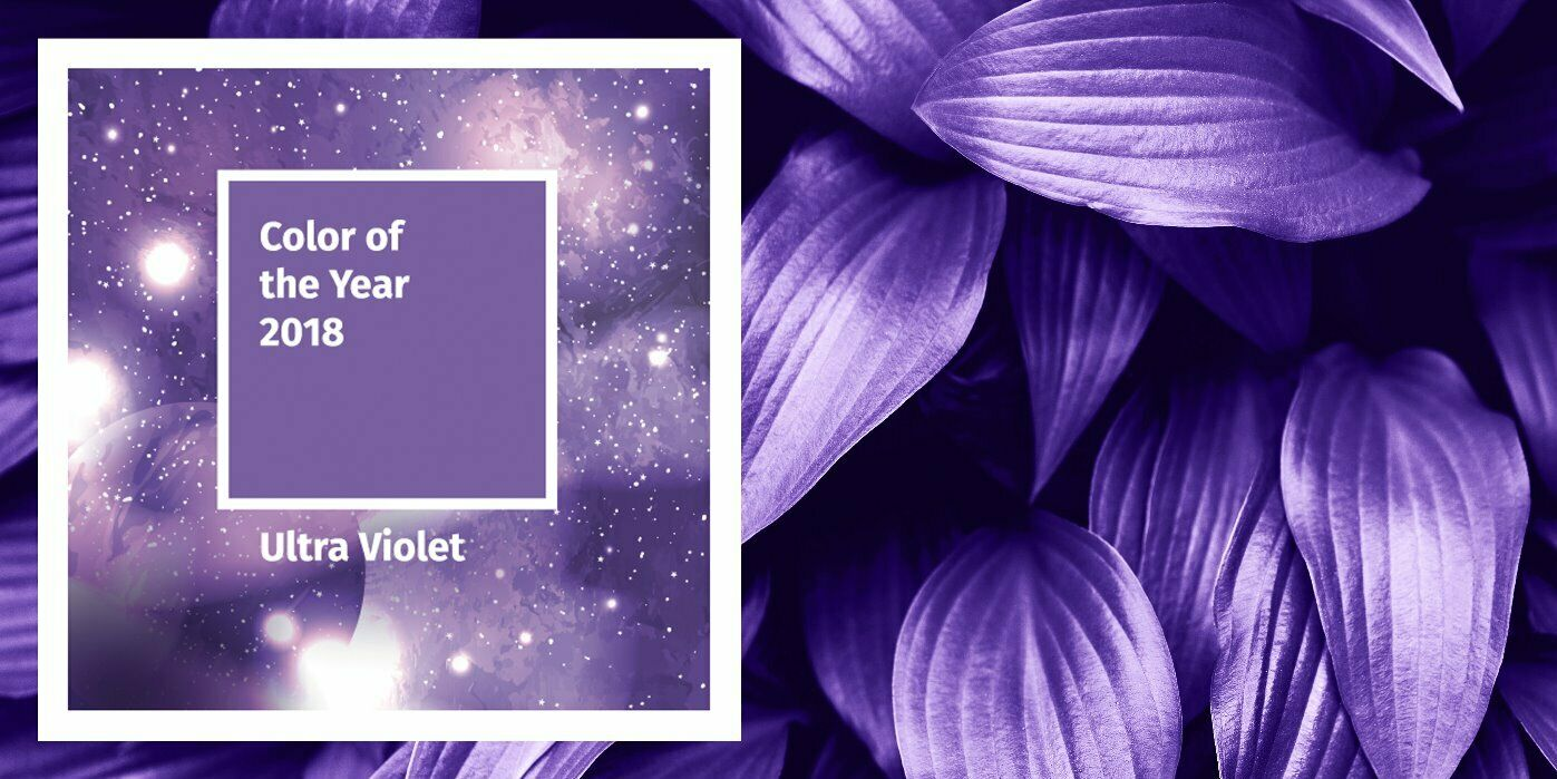 Colour of the Year 2018 - Ultra Violet