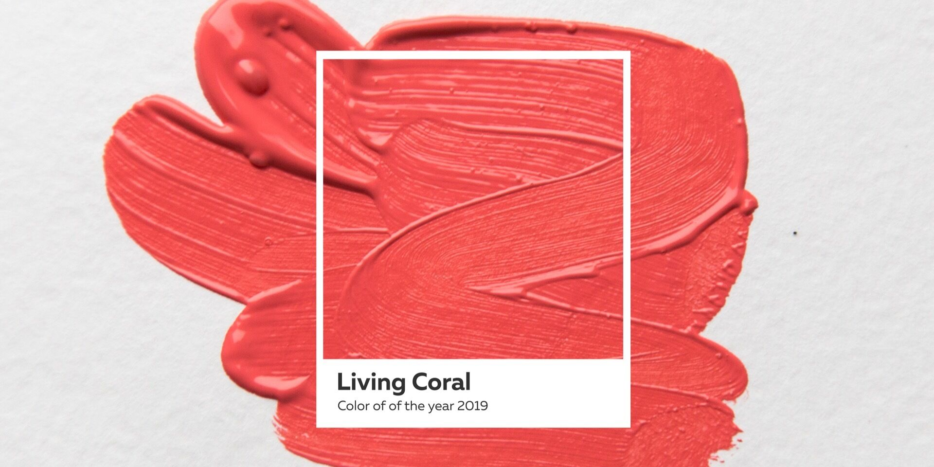 Color of the year 2019 – Living Coral