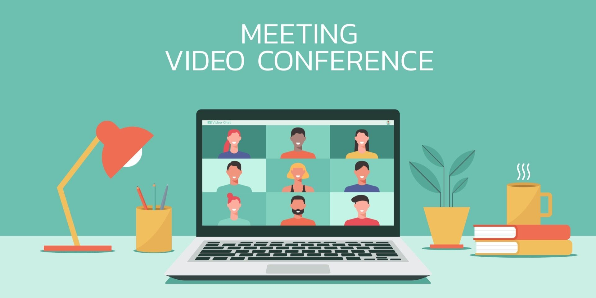 Online meetings via ZOOM – a practical example